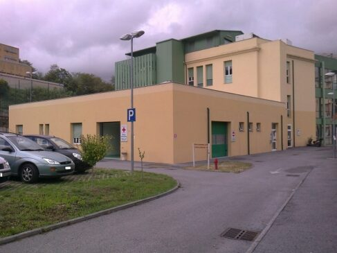 Reparto covid all'Ospedale Gallino